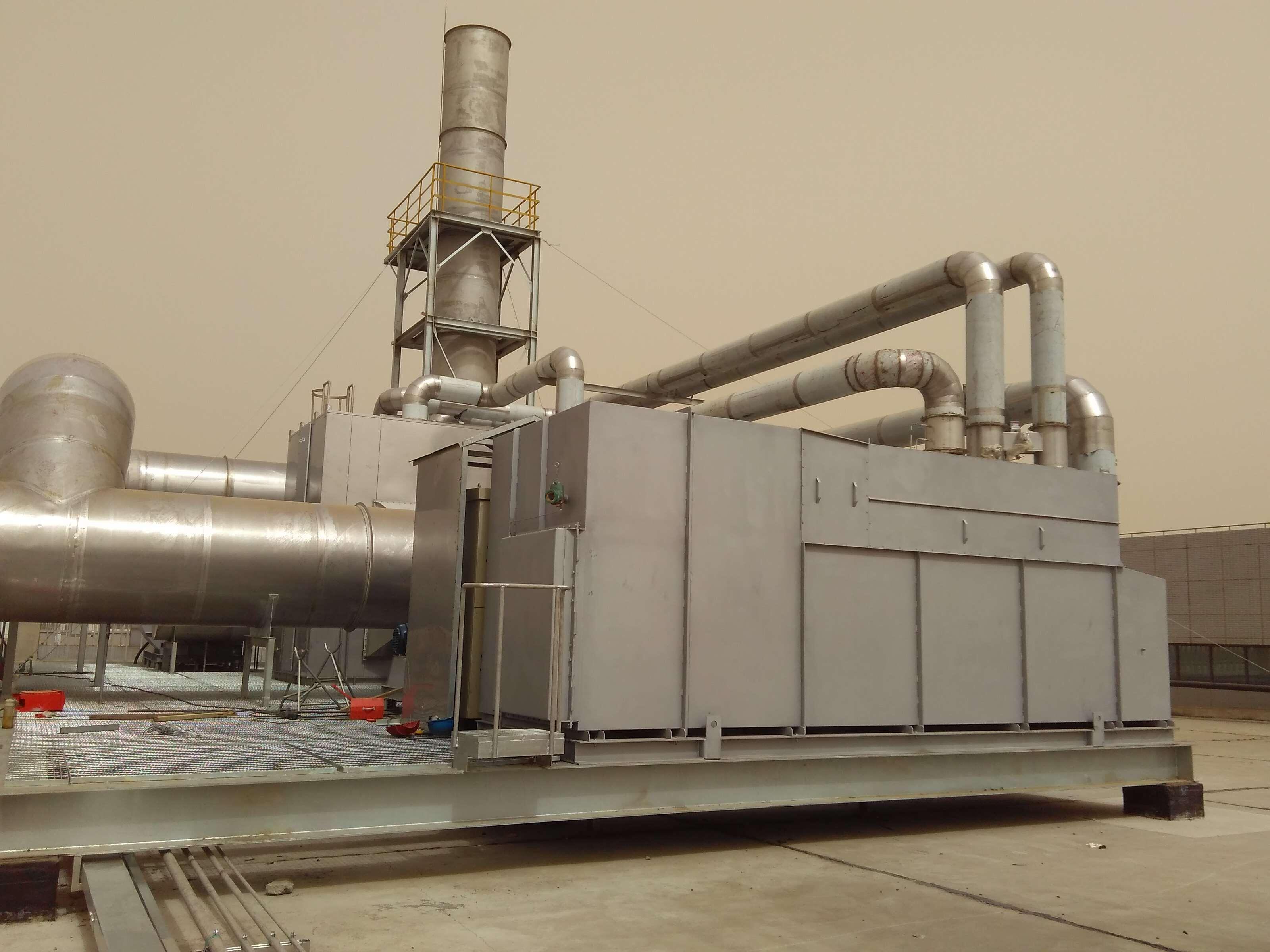 天津某电子厂有机废气处理项目